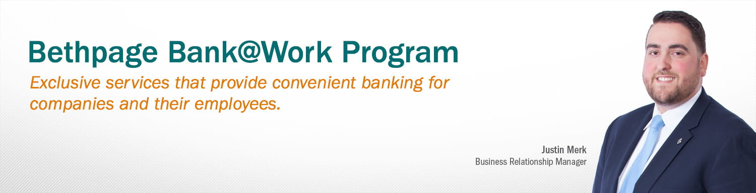 Bank at work program