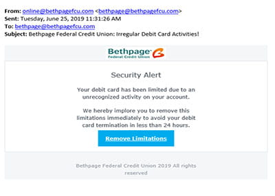 Bethpage Fraud Example 15