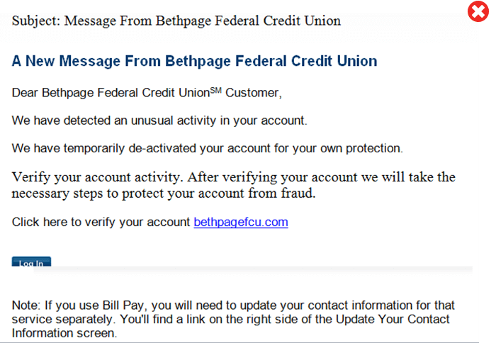 Fraud Protection Recognizing Fraudulent Emails Bethpage Fcu