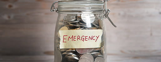 Emergency Money banner