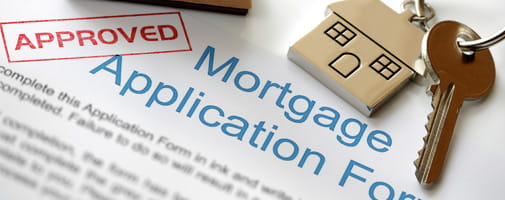 Mortgage Application banner