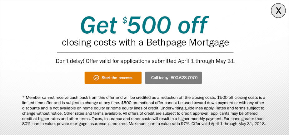 Get $500 Off Closing Costs