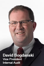 David Bogdanski VP Internal Audit