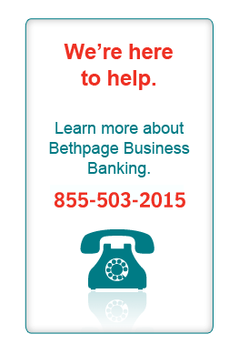 Call the Bethpage Business Team