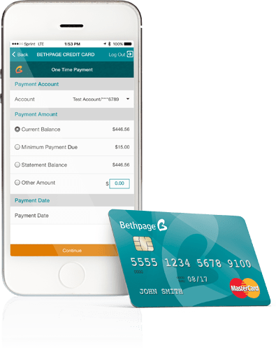 Bethpage Credit Card App