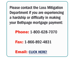 trouble paying mortgage