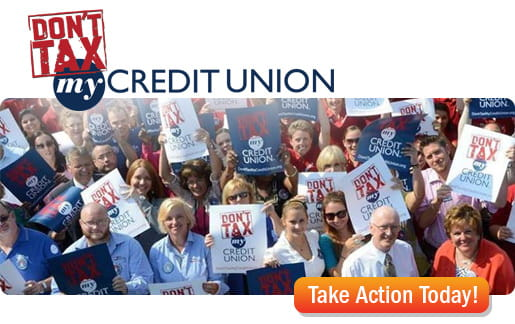 Dont tax my credit union