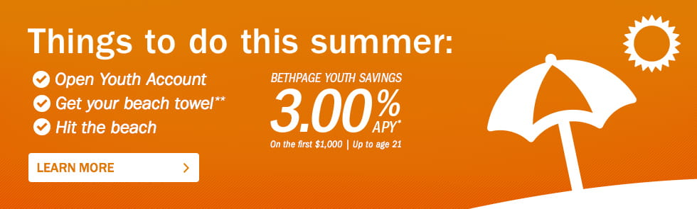 Open a Youth Account and earn 3% APY on the first $1,000!