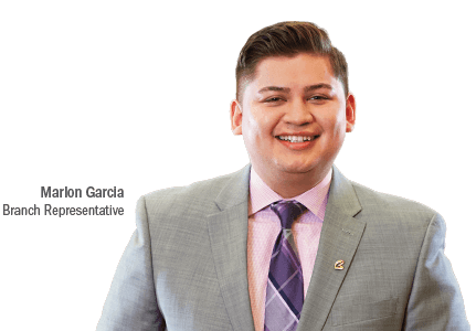 Marlon Garcia Assistant Branch Manager