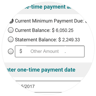 Paying Credit Card Bill Demo