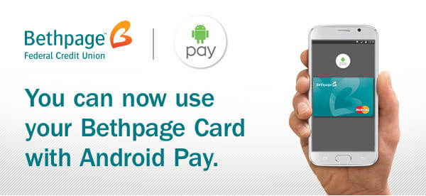 You can now use your Bethpage Card with Android Pay